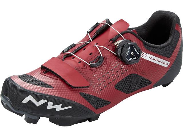 Northwave Razer Chaussures Homme, dark red